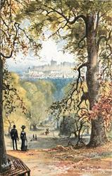 WINDSOR CASTLE FROM QUEEN ADELAIDE'S TREE