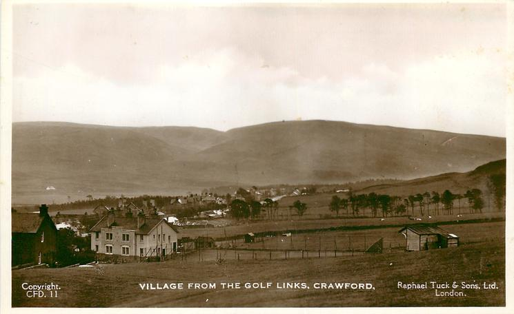 VILLAGE FROM THE GOLF LINKS