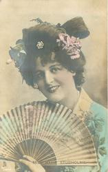 MISS MARIE STUDHOLME  facing front