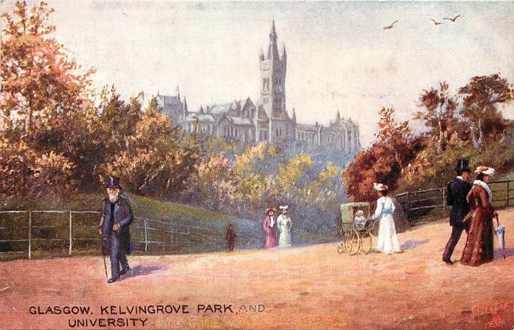 KELVINGROVE PARK AND UNIVERSITY