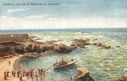 RETOUR DE PECHEURS DE SARDINES (THE SARDINE FISHERY)