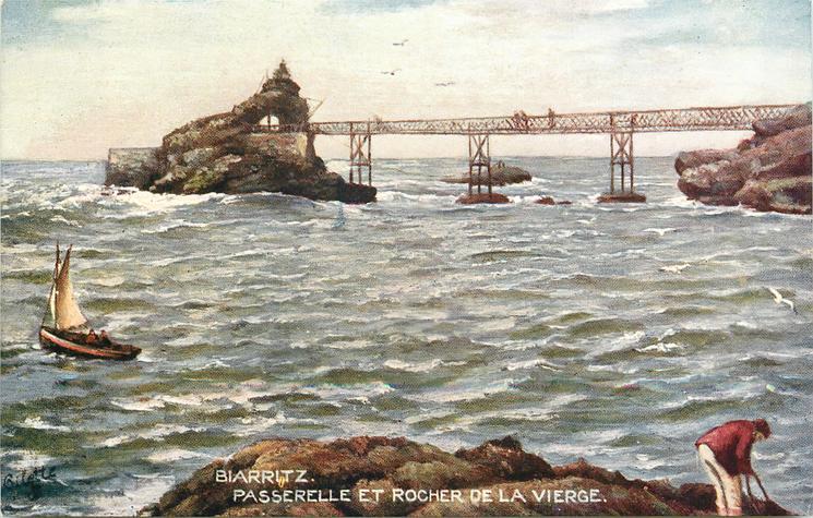 PASSERELLE ET ROCHER DE LA VIERGE (THE ROCK OF THE VIRGIN)