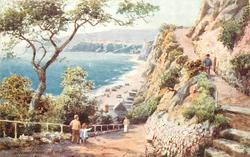 SANDOWN (sea on left)
