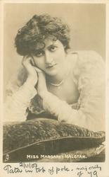 MISS MARGARET HALSTAN