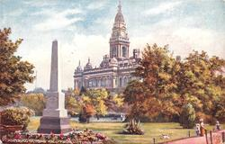 TOWN HALL FROM VICTORIA PARK