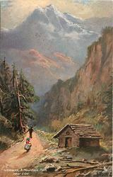 A MOUNTAIN PATH NEAR EIDE