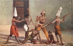 CALCUTTA, DEVIL DANCERS