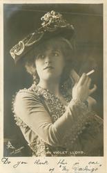 MISS VIOLET LLOYD