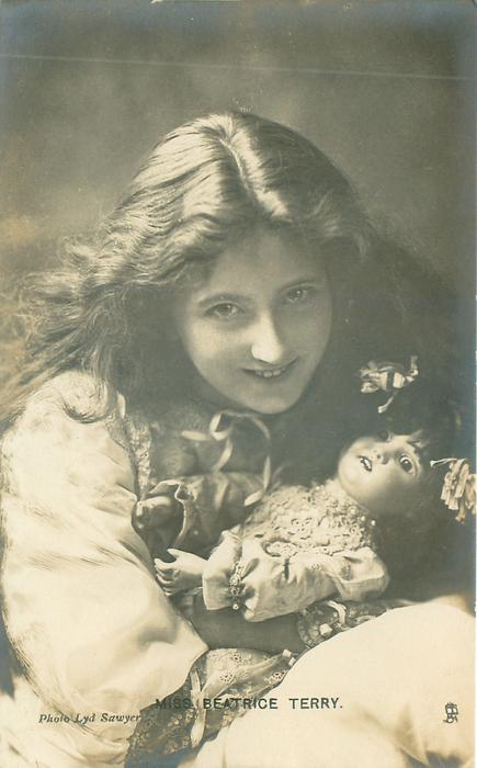 MISS BEATRICE TERRY  with doll