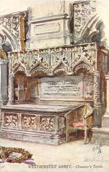CHAUCER'S TOMB