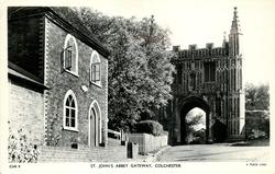 ST. JOHN'S ABBEY GATEWAY