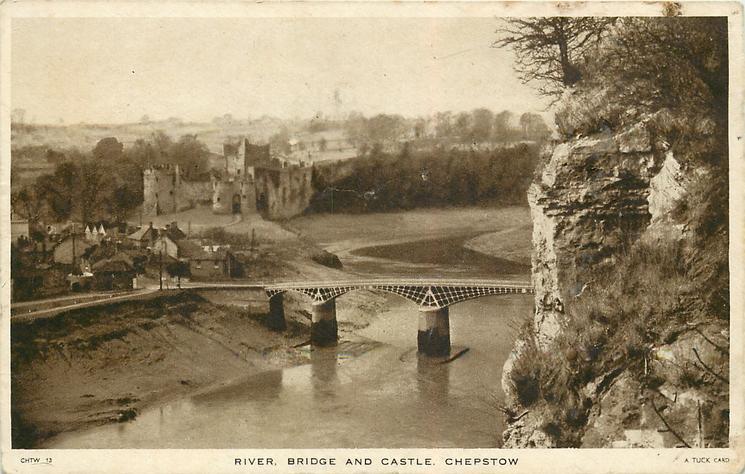 RIVER, BRIDGE AND CASTLE