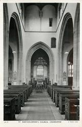 ST. BARTHOLOMEW'S CHURCH  interior