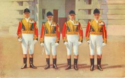 ROYAL POSTILLIONS IN ASCOT LIVERY