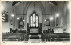 INTERIOR ST, JOHN'S CHURCH