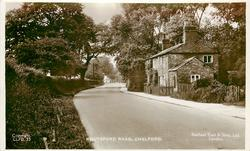 KNUTSFORD ROAD  house right