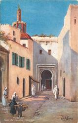 NEAR THE KASBAH, TANGIERS