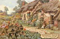 """ANN HATHAWAY'S COTTAGE"" (BEFORE ITS RESTORATION)"