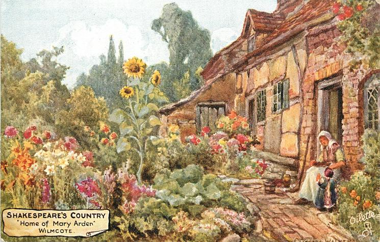 """""""HOME OF MARY ARDEN,"""" WILMCOTE"""