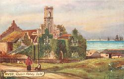 QUARR ABBEY, I.O.W.