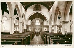 ST. ANDREW'S CHURCH  interior