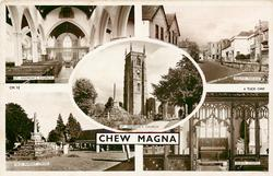 5 insets  ST. ANDREW'S CHURCH/SOUTH PARADE/ST. ANDREW'S CHURCH/OLD MARKET CROSS/BABER CHAPEL