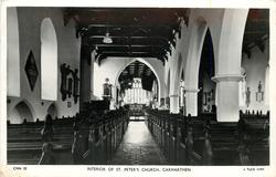 INTERIOR OF ST. PETER'S CHURCH