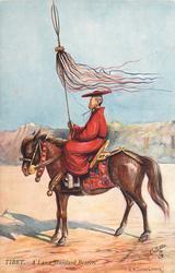 A LAMA STANDARD BEARER