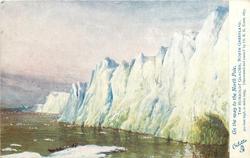 THE HUMBOLDT GLACIER, NORTH GREENLAND