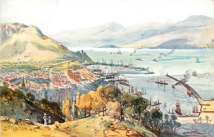 LYTTLETON N.Z. (general view)
