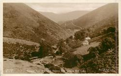 GENERAL VIEW OF CHURCH STRETTON FROM CARDING MILL VALLEY