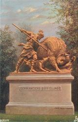 GERMANISCHE BUFFELJAGD (THE BUFFALO HUNT)