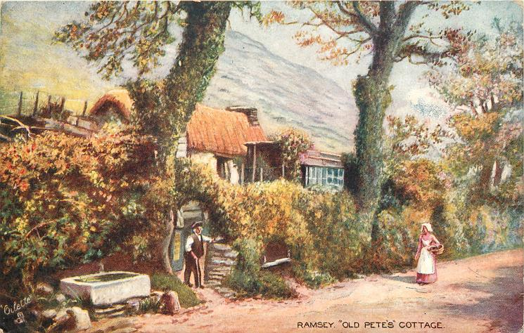 """""""OLD PETE'S"""" COTTAGE"""