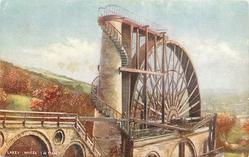 LAXEY WHEEL, I. OF MAN