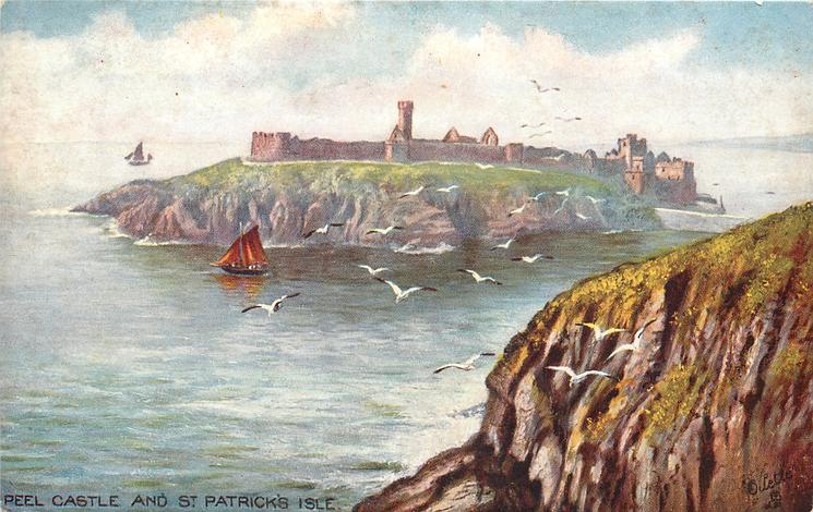 PEEL CASTLE AND ST. PATRICK'S ISLE