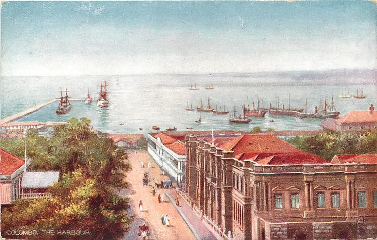 COLOMBO, THE HARBOUR