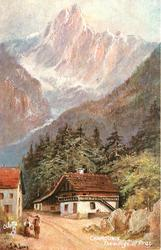 CHAMOUNIX - THE VILLAGE OF PRAZ