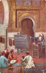 A L'ECOLE (A MOORISH SCHOOL)
