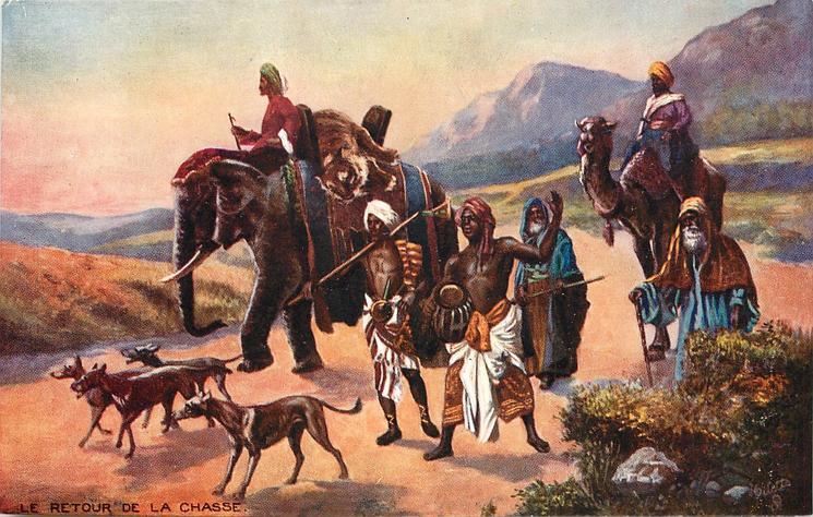LE RETOUR DE LA CHASSE (THE RETURN FROM THE HUNT)