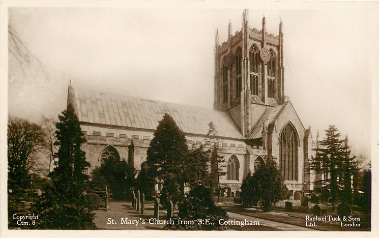 ST. MARY'S CHURCH FROM S.E.