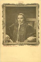 PORTRAIT DU PAPE PIE VII