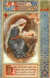 A HAPPY CHRISTMAS,   HARK, THE HERALD ANGELS SING GLORY TO THE NEW-BORN KING/RECONCILED