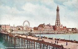 BLACKPOOL FROM N. PIER