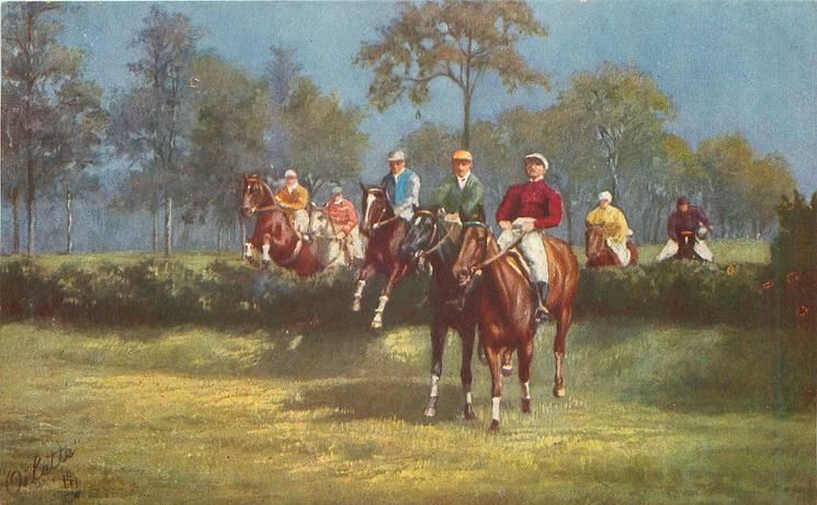 A GALLOP ACROSS THE FLAT