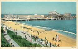WEST BEACH AND PIER