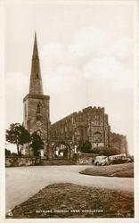 ASTBURY CHURCH NEAR CONGLETON