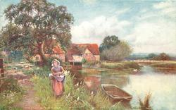 THE FARM BY THE RIVER
