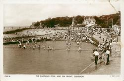 THE PADDLING POOL AND SEA FRONT