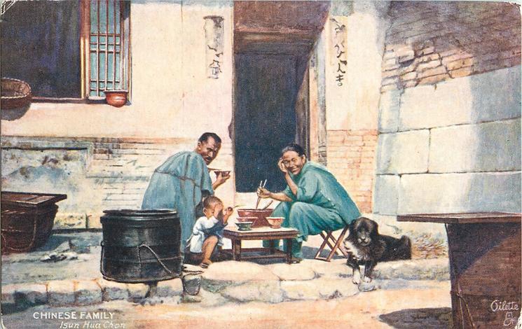 CHINESE FAMILY, ISUN HUA CHON