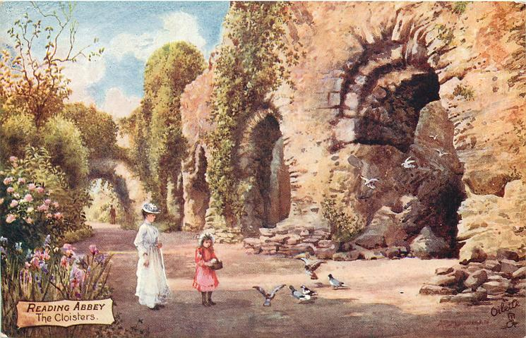 READING ABBEY, THE CLOISTERS